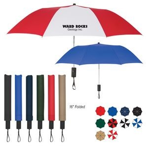 "44"" Arc Automatic Open Telescopic Folding Umbrella"